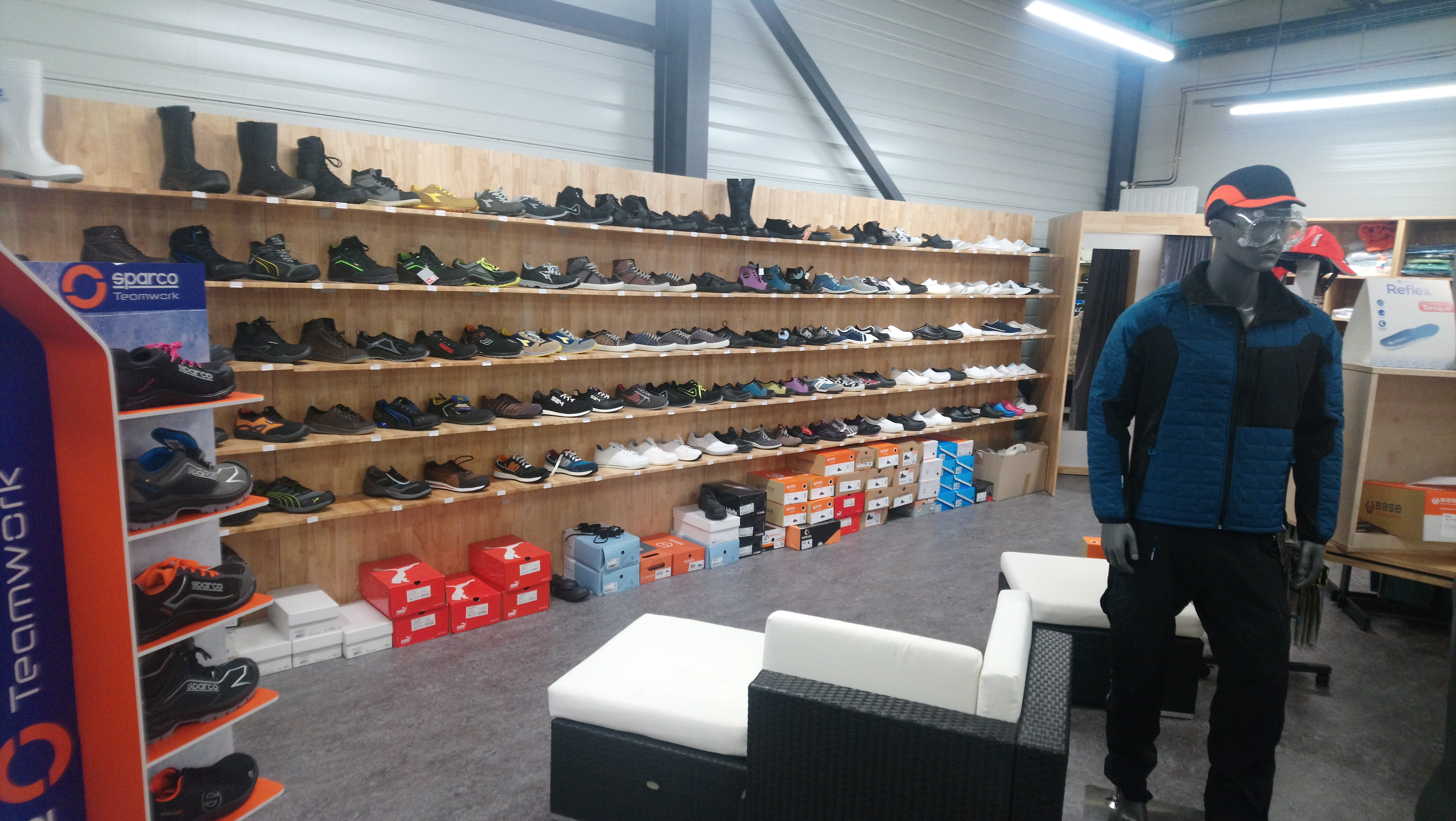 tely habit pro mur chaussures securite magasin brives charensac